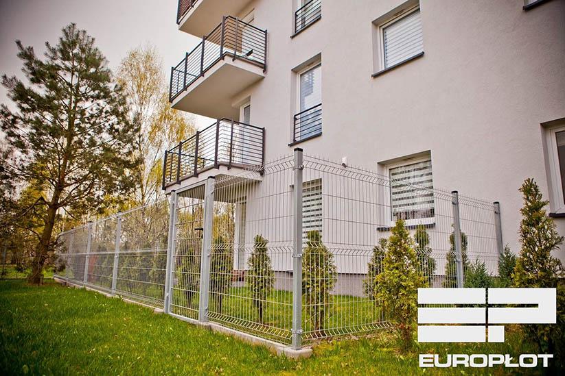 Идея забора - панели ограждения из сварной сетки, часть 1 - fences-europlot.pl
